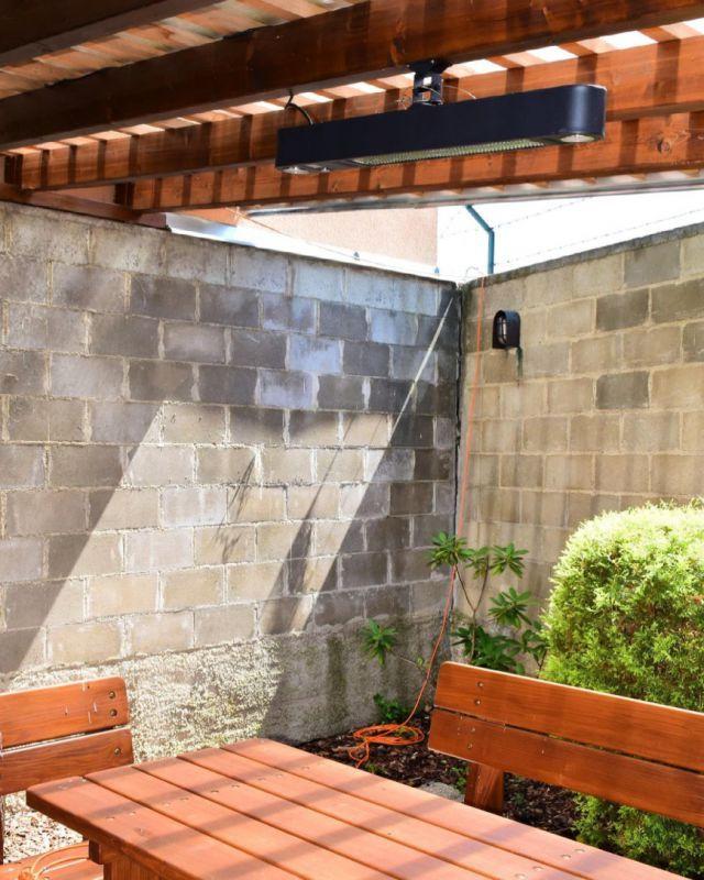 Zahradní elektrická topidla